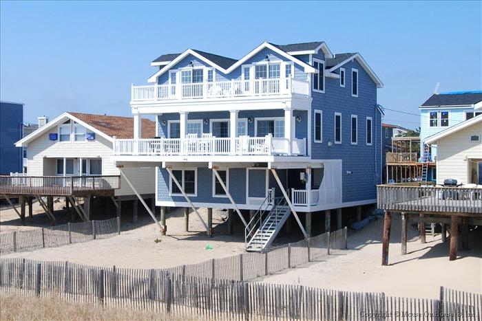 Big Nice House On The Beach sandcastle realty oceanfront rentals at delaware beaches